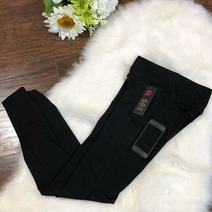 NWT GIRLS WOMENS LEGGINGS WITH POCKETS SMALL ‼️